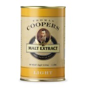 LIGHT Malt Extract Coopers 1.5kg