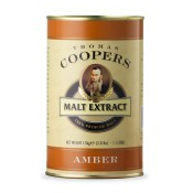 AMBER Malt Extract Coopers 1.5kg