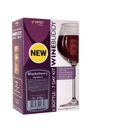 6 Bottle Blackcherry WineBuddy Wine Fruit