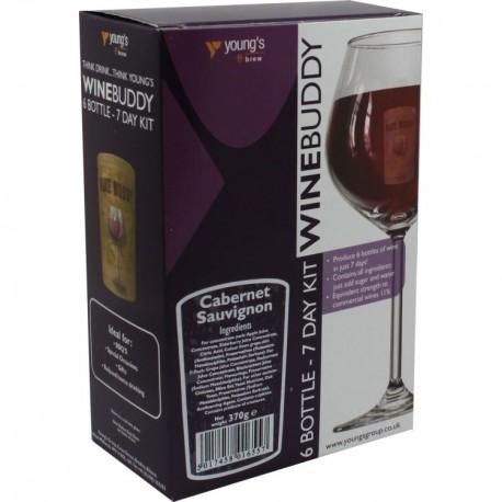 6 Bottle ( 4,5l)  Wino Czarna Wiśnia WineBuddy