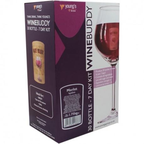 30 Bottle Merlot WineBuddy Wine