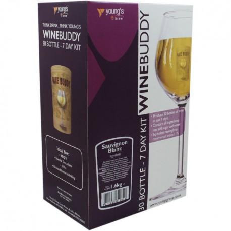 6 Bottle ( 4,5l)  Wino Sauvignon Blanc WineBuddy