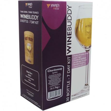 30 Bottle Wino Chardonnay WineBuddy