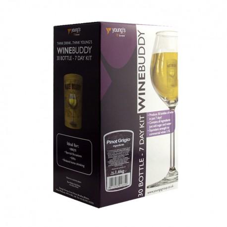 30 Bottle Pinot Grigio WineBuddy Wine