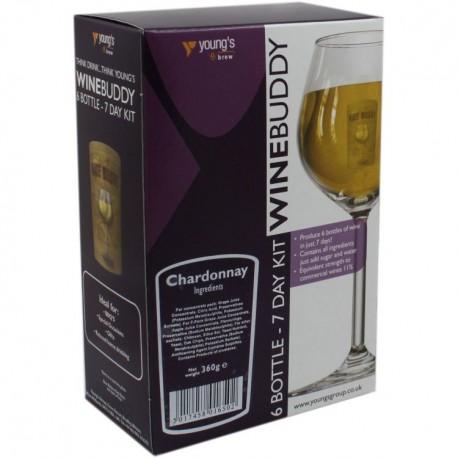 6 Bottle Wino Chardonnay WineBuddy