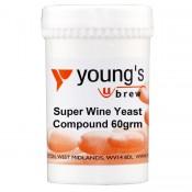Mieszanka drożdżowa Young's Super Wine 60g (10 Gal)