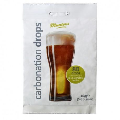 Muntons Carbonation Drops 160grm / 80 Drops