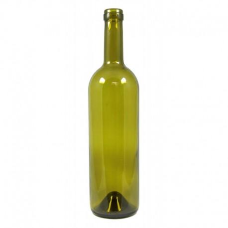 Wine bottle olive 75cl